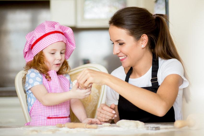 babysitter cucina
